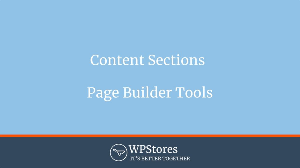 Make Theme Page Builder - Content Sections