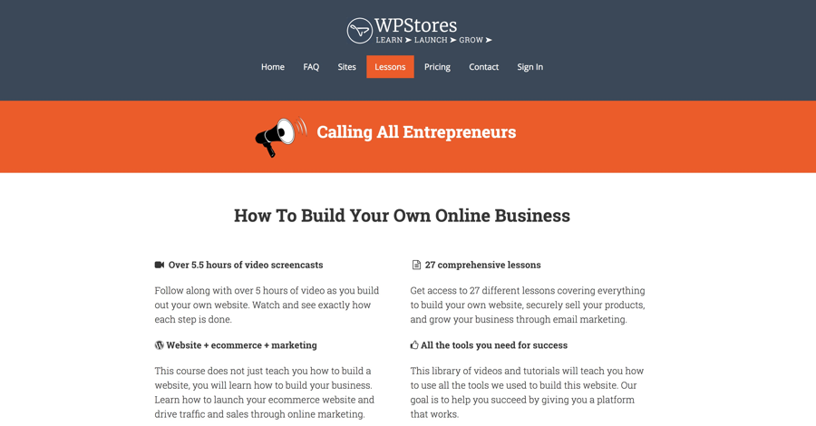 How to build your own business online